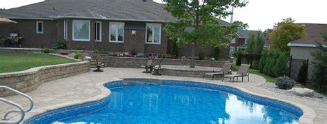 backyard pools ottawa ottawa swimming pools home