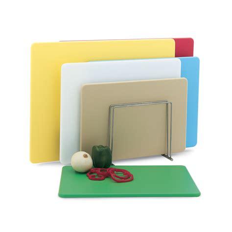 Multi Board vollrath 5200311 poly cutting board set 18x24x1 2 quot multi color