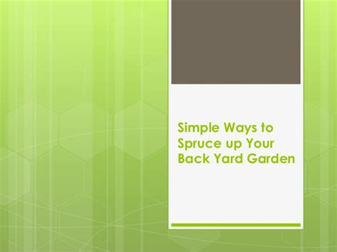6 easy ways to spruce up your patio this insolroll simple ways to spruce up your back yard garden