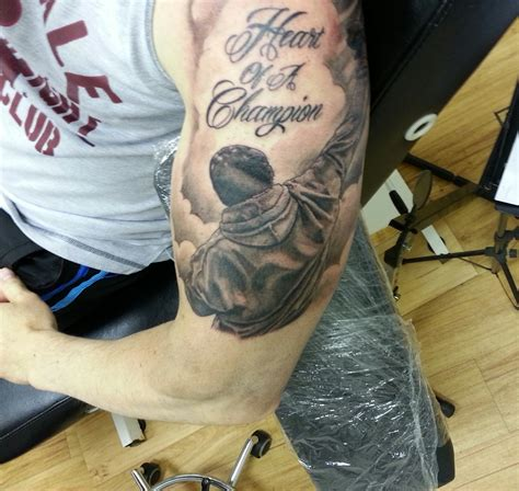 balboa tattoo and rocky balboa on