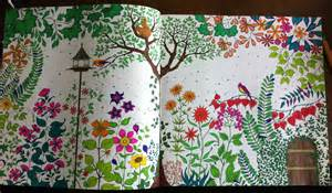 test produit coloriage quot jardin secret quot shrink