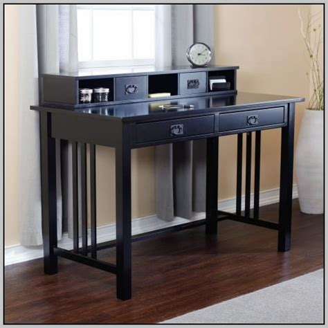 black student desk with hutch student desk with hutch black desk home design ideas