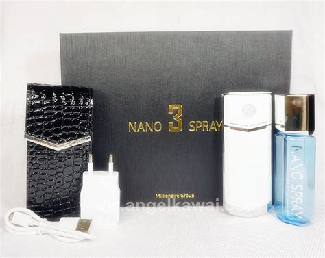Baterai Nano Spray 3 angelkawai s diary nano spray 3 review unboxing