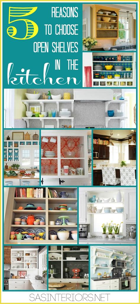 5 Reasons To Choose Open Shelves In The Kitchen Jenna Burger | 5 reasons to choose open shelves in the kitchen