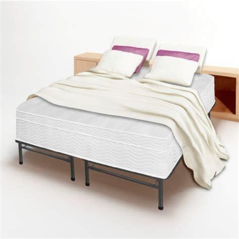 13 Euro Box Top Spring Mattress And Bed Frame Set King Bed Frame No Box