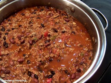 best chilli cranberry morning best chili con carne recipe