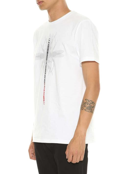 Shirt Neackless Chain Bhn Jersey Use Xl homme homme white jersey t shirt bianco s sleeve t shirts italist