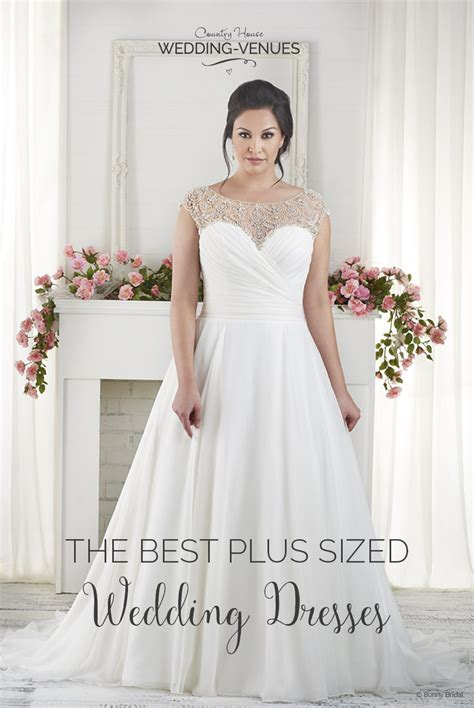 10 Of The Best Plus Sized Wedding Dresses   CHWV