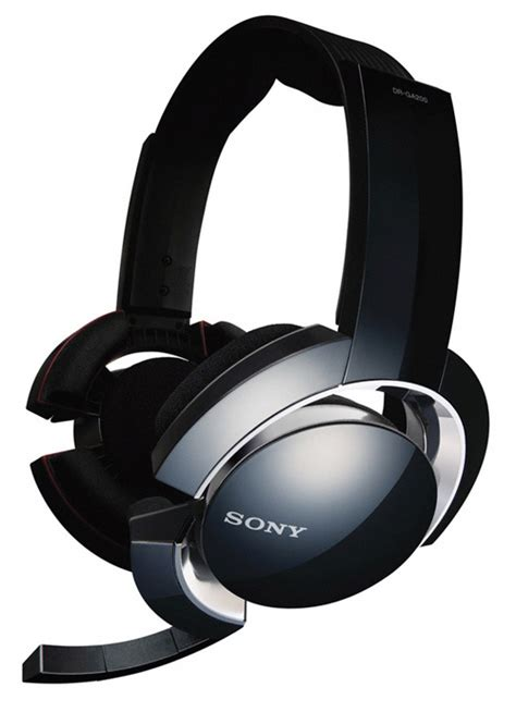 Headshet Sony sony s dr ga500 and dr ga200 gaming headsets