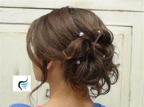 soft updo hairstyles for mothers soft curled updo for long hair prom or wedding hairstyle