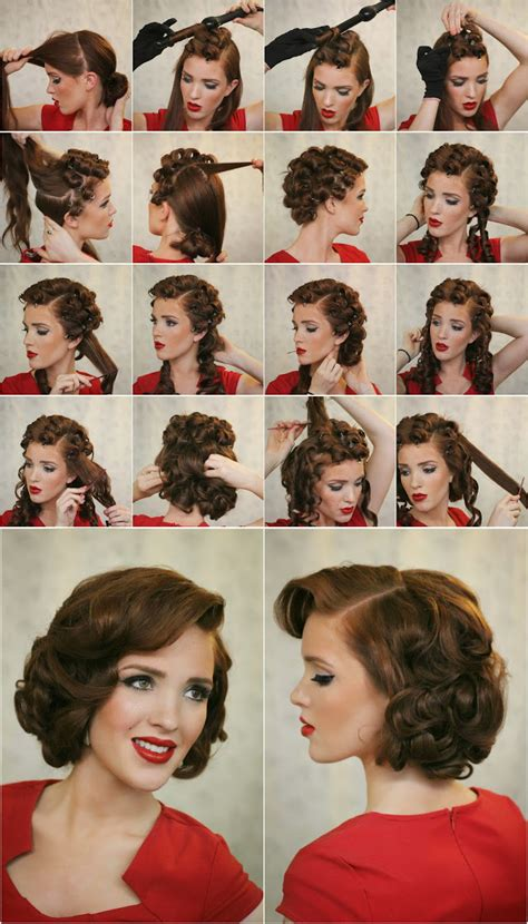 vintage hairstyles curls 17 ways to make the vintage hairstyles pretty designs