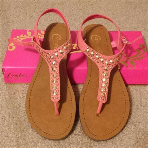 Candies Shoes by 30 Candies Shoes Candies Caricky Coral Sandals