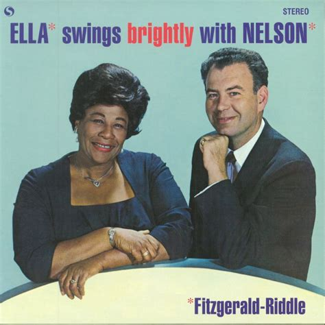 ella fitzgerald swing ella fitzgerald swings brightly with nelson reissue