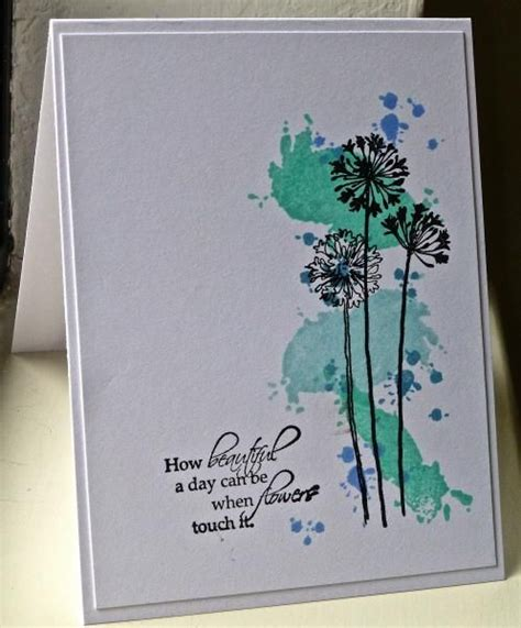 Beautiful Paper Crafts - ic438 beautiful grunge flowers by hskelly cards and