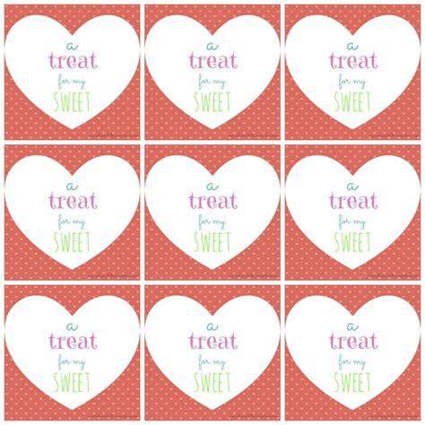 Printable Valentines free printable s day tags