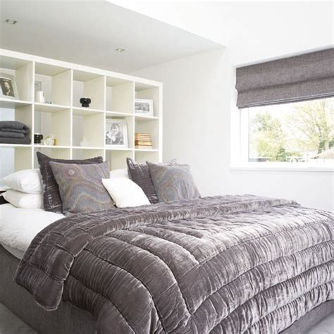 grey headboard bedroom ideas grey bedroom with storage headboard 20 gorgeous grey