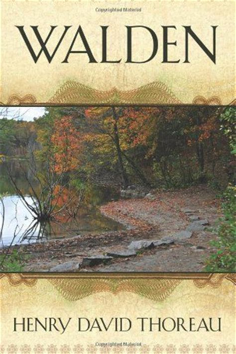 Walden By Henry David Thoreau Books To Read