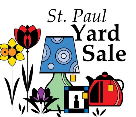 St Paul Garage Sales by Rummage Sale Pictures Cliparts Co