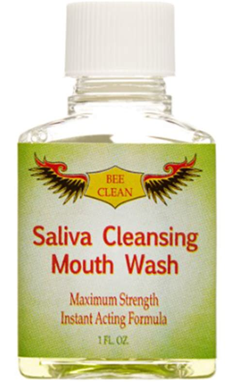 Detox Saliva Mouthwash by Saliva Cleansing Mouthwash 1 Oz 13 63ea From Angio