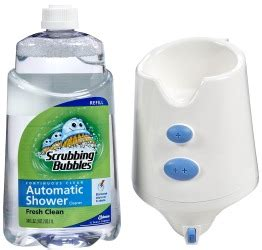 scrubbing bubbles automatic shower cleaner reviews