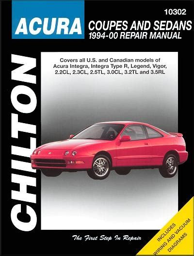 transmission control 1994 acura vigor free book repair manuals acura integra legend vigor cl tl rl repair manual 1994 2000