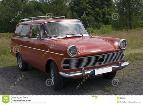 vintage opel car vintage opel rekord stock photo image of headl