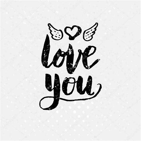 imagenes de amor animadas en blanco y negro blanco y negro te amo texto sobre fondo blanco vector de
