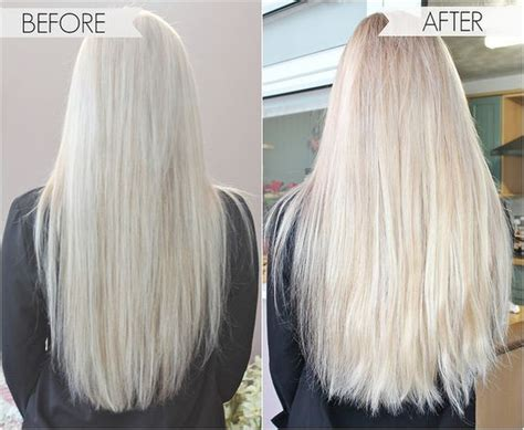foxy locks before and after blonde hair extensions extensions and locks on pinterest