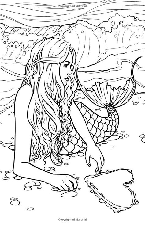 coloring pages for adults mythical 112 best images about kleurplaten marine life on