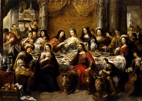 Wedding Feast At Cana Tintoretto by File Jan Cossiers The Wedding At Cana Jesus Blesses The