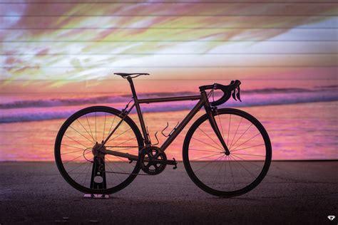 Handmade Titanium Bikes - custom titanium road bike pedal room