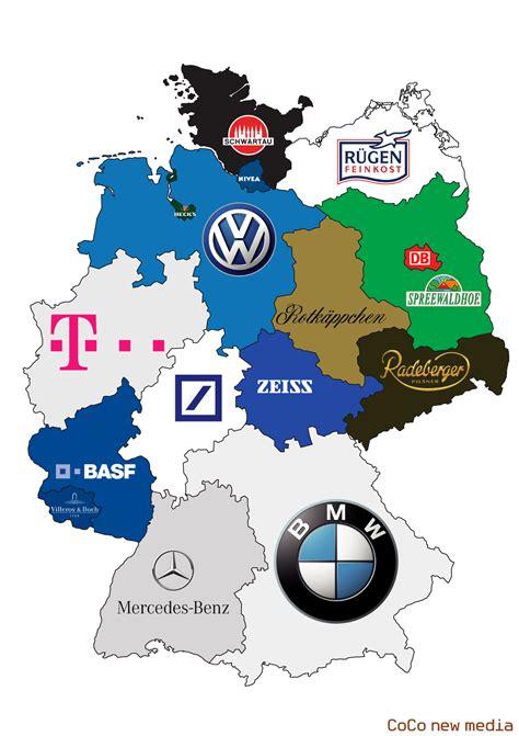 Deutsches Büro Grüne Karte Fax by Markenrepublik Deutschland Eine Karte Mit Den