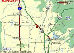 chico california map about city of chico
