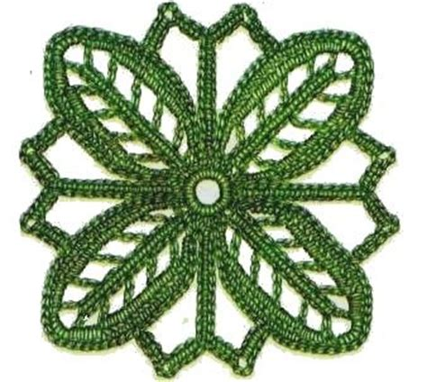 100 piastrelle all uncinetto piastrelle all uncinetto fiore dai quattro petali punti