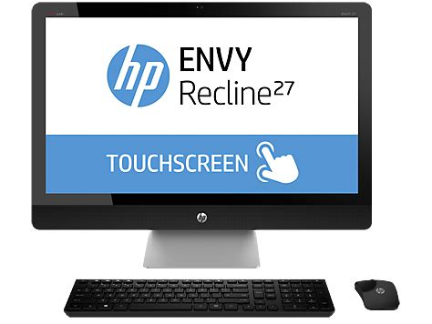 Hp Recline 27 by Hp Envy Recline 27 K151 Touchsmart All In One Desktop Pc