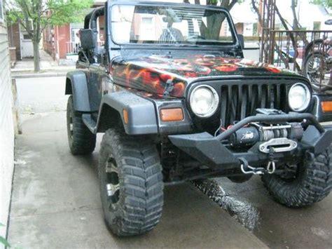 97 Jeep Wrangler Sport Sell Used 97 Jeep Tj Wrangler Sport Completely Custom