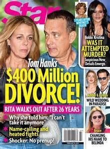 Tom Split by Tom Hanks And Wilson Divorce Battle 400