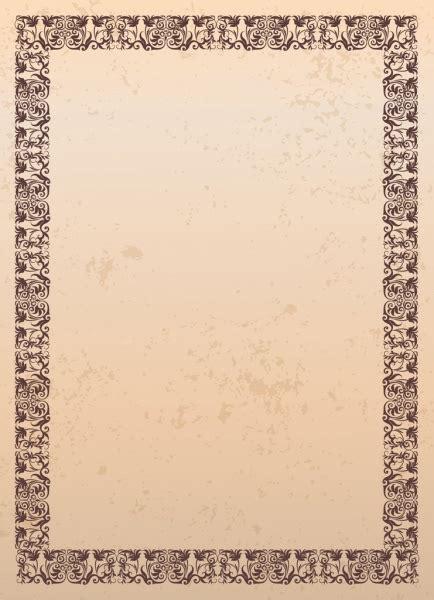 border templates for adobe illustrator document border template classical retro seamless design