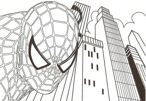Coloriage Coloriage Spiderman 224 Imprimer