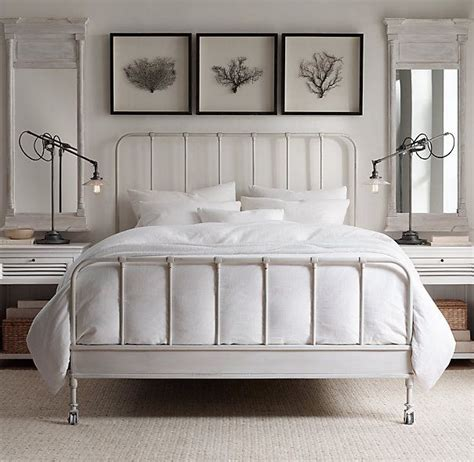 White Iron Beds by Best 25 White Iron Beds Ideas On White Metal