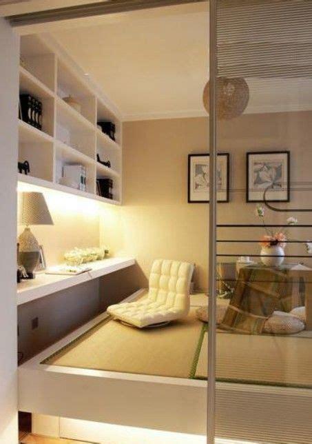 japanese interior design for small spaces 榻榻米书房设计效果图 浪漫实用小空间 网易河南