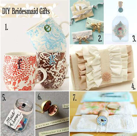 Handcrafted Presents - handmade gifts wedding