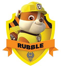 paw patrol party rubble png pictures to pin on pinterest paw patrol s official website