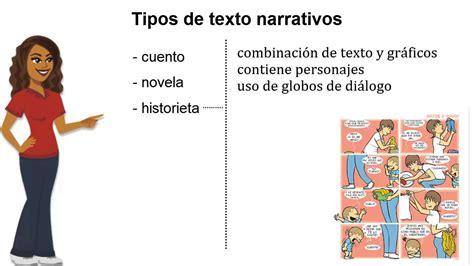 un testo narrativo el texto narrativo tipos