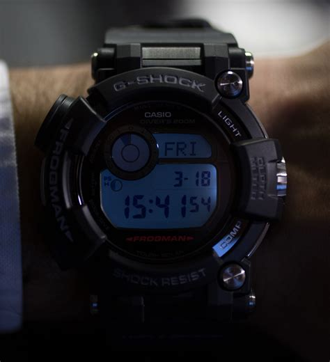 G Shock Frogman Gwf D1000 1 review on casio g shock frogman gwf d1000 on most