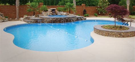 backyard inground swimming pools inground pool options design your backyard inground pool