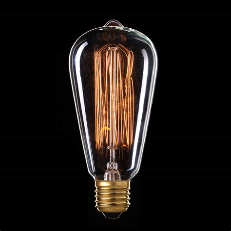 vintage filament st18 globes brilliant lighting