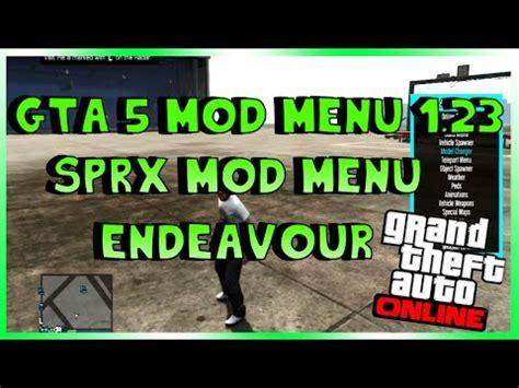 lts grand theft auto 5 sprx mod menu playstation 3 gta 5 online new endeavour sprx mod menu sprx dex