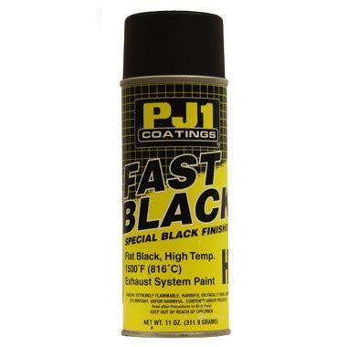 Motorrad Auspuff Lackieren by Pj1 Flat Black Exhaust Paint
