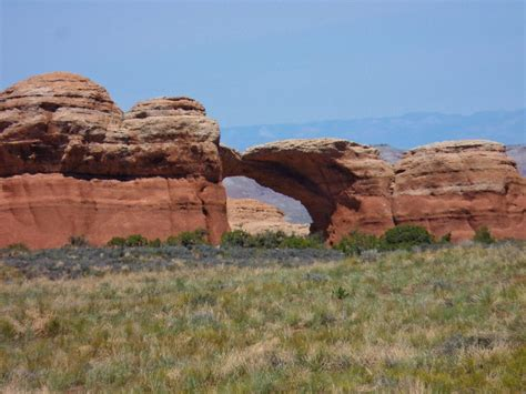 Landscape Arch Broken Hiking Devils Garden Primitive Loop Arches Np Ted S